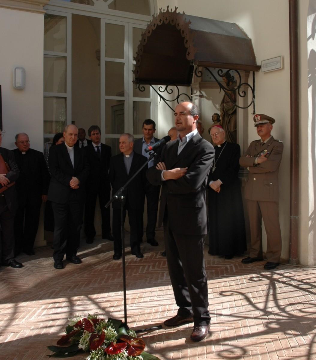 21 giugno 2008. Silvano Rometti, assessore regionale ai beni e alle attività culturali.