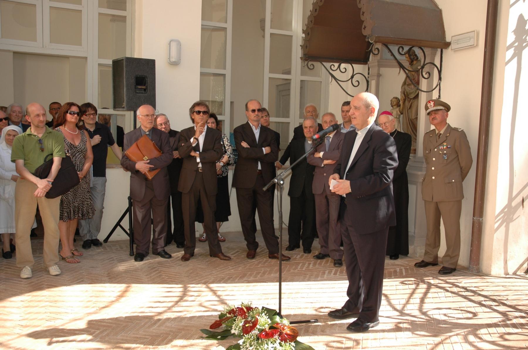 21 giugno 2008. Dante Cesarini, direttore della biblioteca Jacobilli