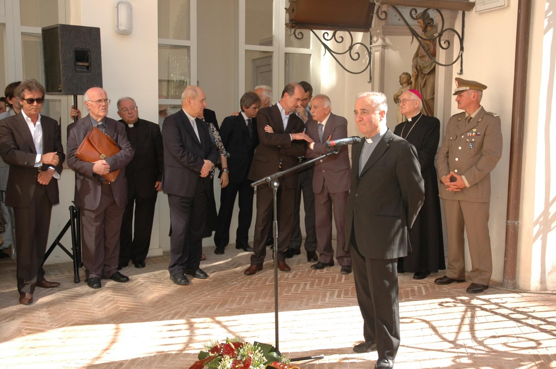 21 giugno 2008. Sergio Andreoli, direttore dell'Archivio diocesano