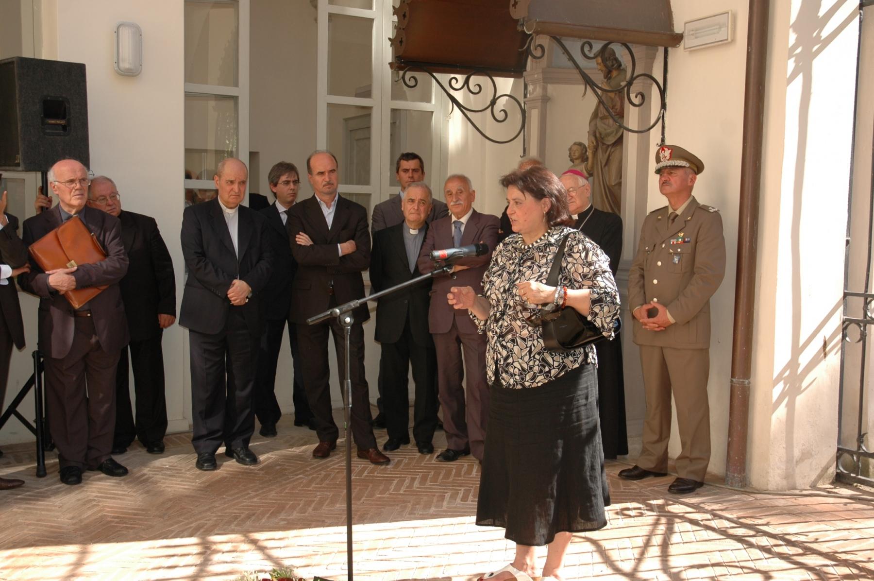 21 giugno 2008. Elisabetta Bogini, Soprintendenza Archivistica per l'Umbria