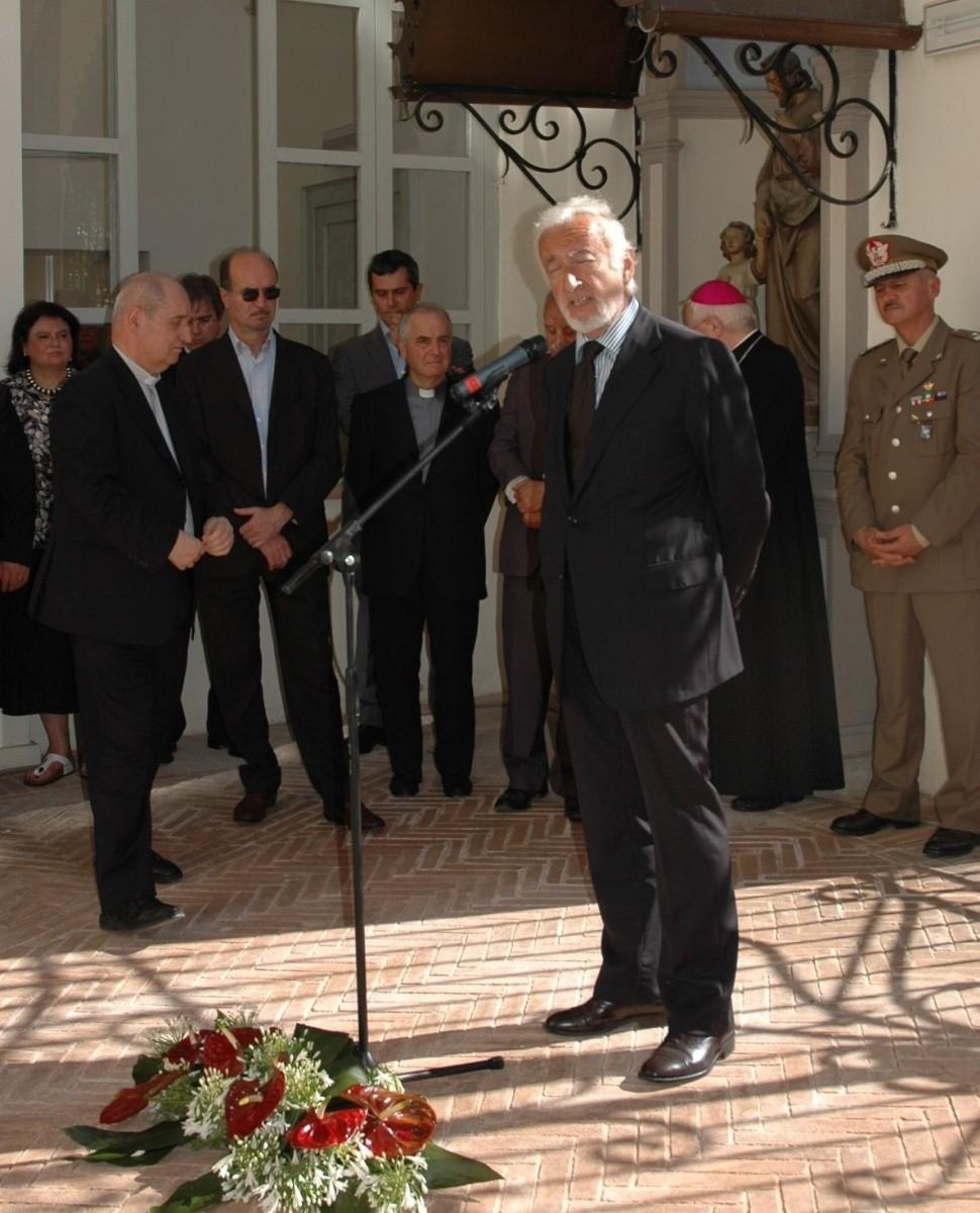 21 giugno 2008. Italo Tomassoni, Fondazione Cassa di Risparmio di Foligno.