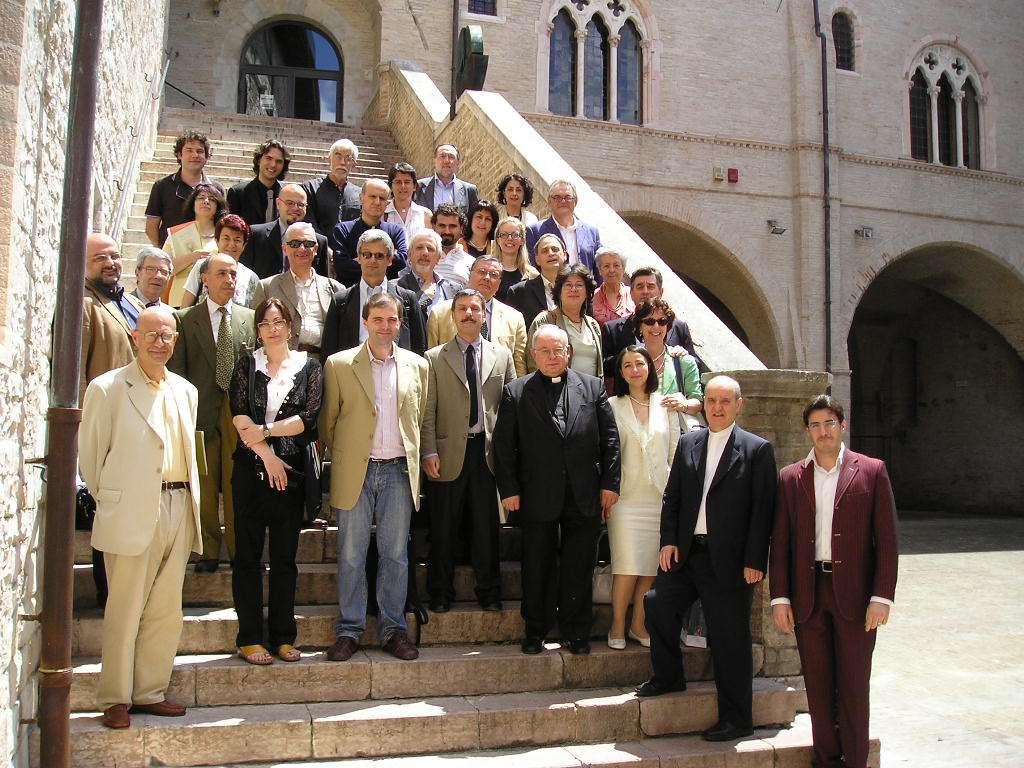 Convegno Italia Sacra - 19-21 giugno 2008 - Foto di gruppo dei relatori
