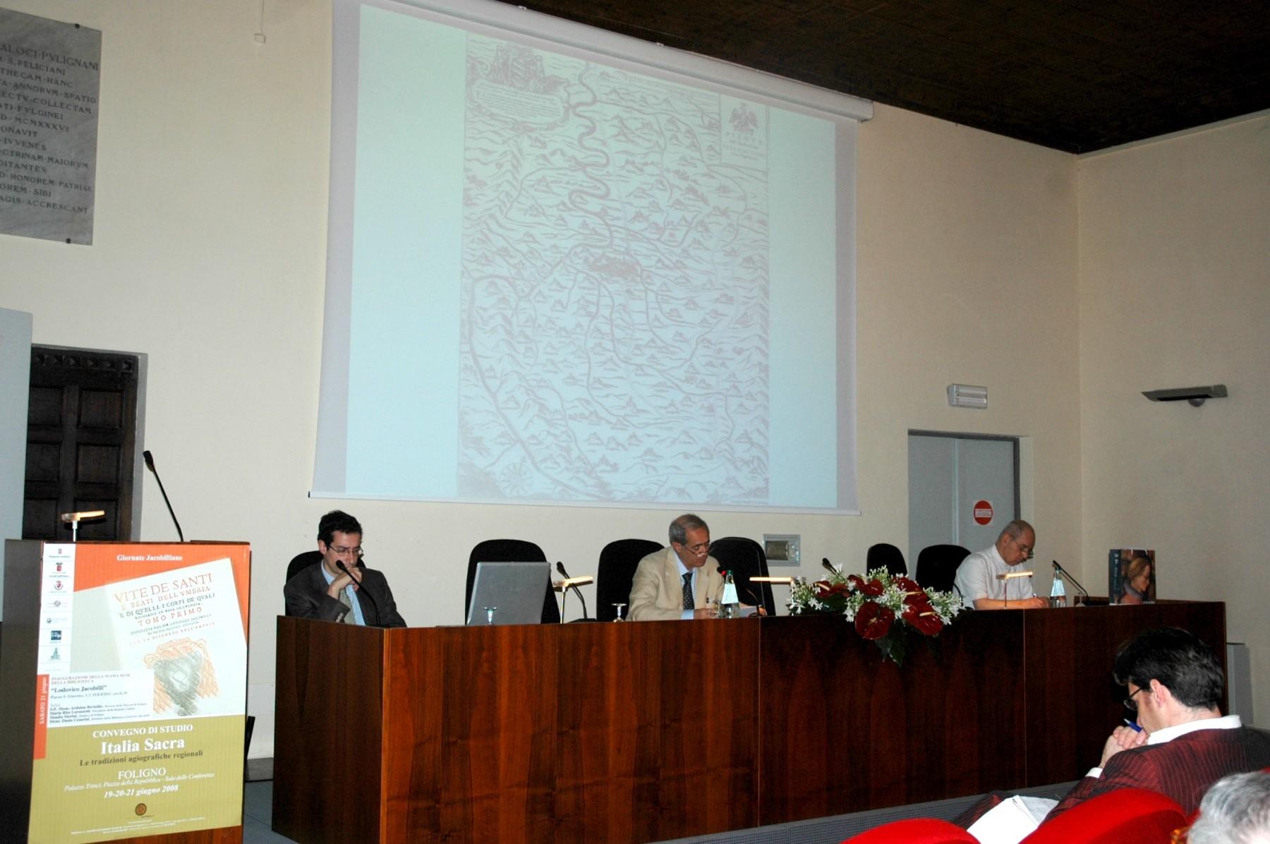 Convegno Italia Sacra - 19-21 giugno 2008 - Alberto Melelli