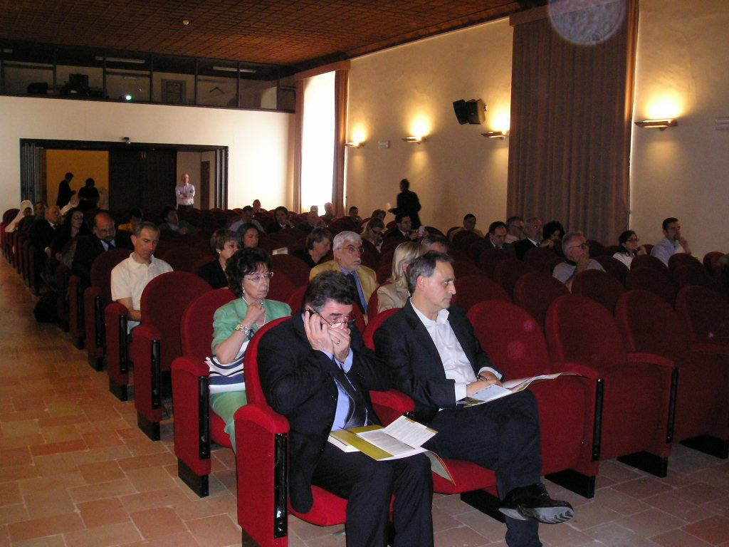 Convegno Italia Sacra - 19-21 giugno 2008 - Platea 1
