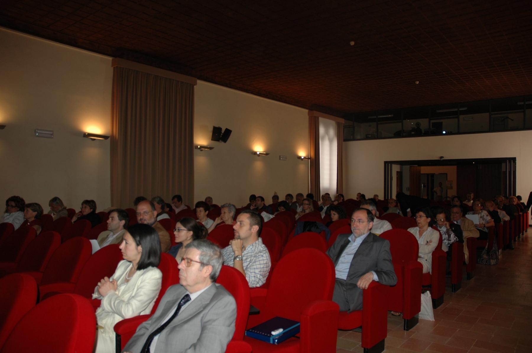Convegno Italia Sacra - 19-21 giugno 2008 - Platea 2