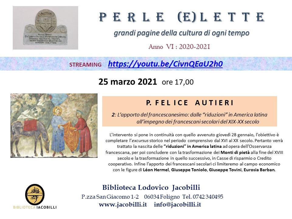 Perle (e)lette: Felice Autieri / 2