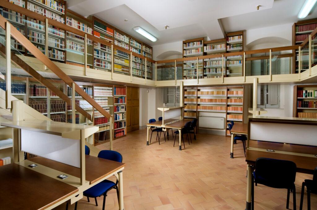 Sala di lettura 1