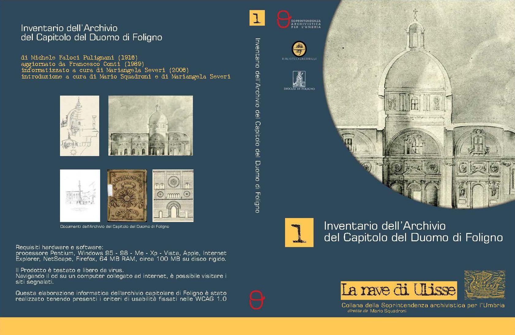 Copertina CD Archivio Capitolare