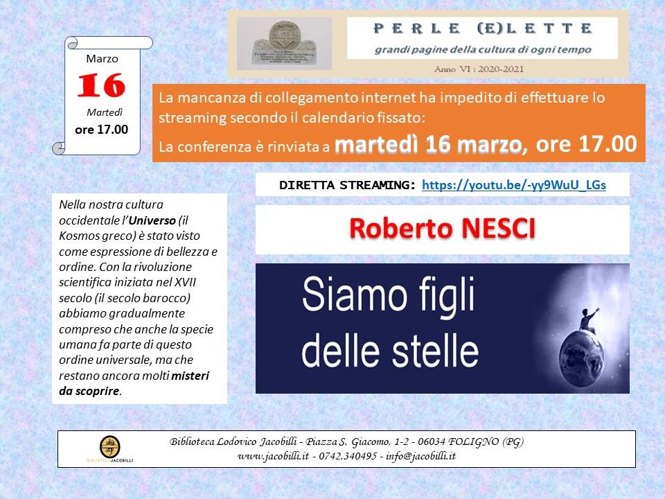 Perle (e)lette: Roberto Nesci