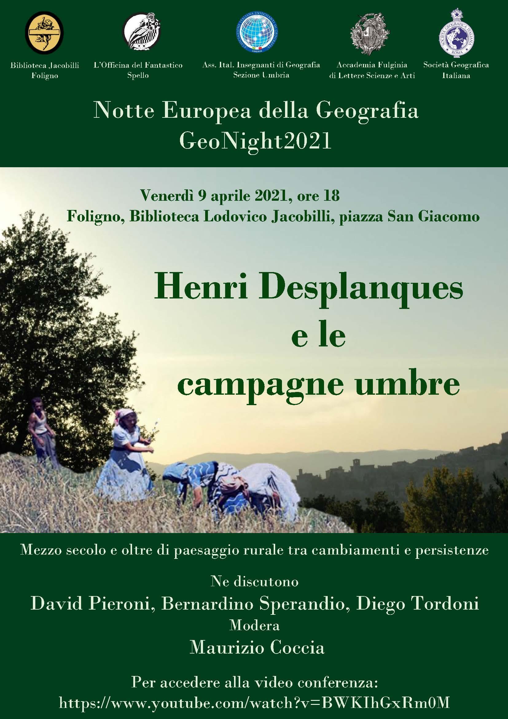 Notte europea della Geografia – GeoNight2021